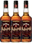 Jim Beam Maple Bourbon Whisky 3 x 0,7 Liter