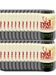 Jim Beam Red Stag Ginger & Lime 10%  24 x 0,33 Liter