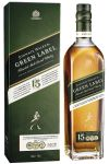 Johnnie Walker 15 Jahre Green Label Blended Malt Whisky 0,7 Liter