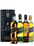 Johnnie Walker Collection in Lederbox 4 x 0,2 Liter