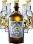 Monkey 47 Dry Gin & 5 x 0,2 Liter Thomas Henry Tonic Water