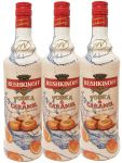 Rushkinoff Vodka & Caramello 3 x 1,0 Liter