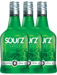 SOURZ Apple Likör 3 x 0,7 Liter