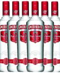 Smirnoff Vodka No. 21 Red Label 6 x 0,70 Liter