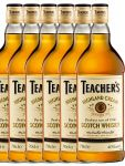 Teachers Highland Cream Whisky 6 x 0,7 Liter