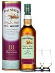 The Tyrconnell 10 Jahre Port Finish 0,7 Liter + 2 Glencairn Gläser