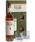 Writers Tears Pot Still Blend Irish Whiskey mit 2 Gläsern
